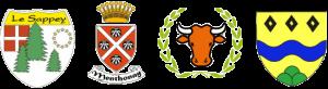 armoiries 4 communes